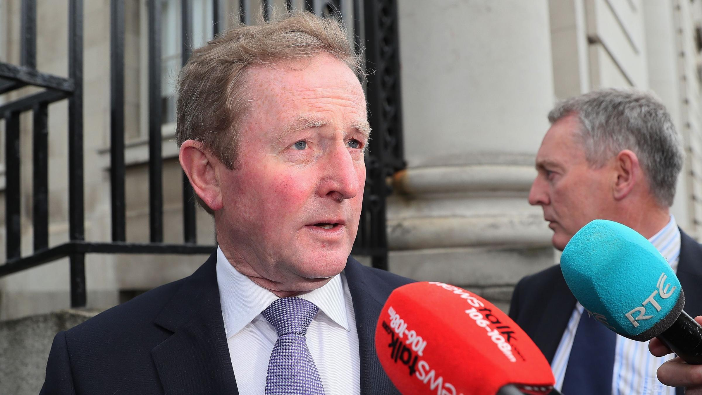 Ireland's new prime minister formally takes power