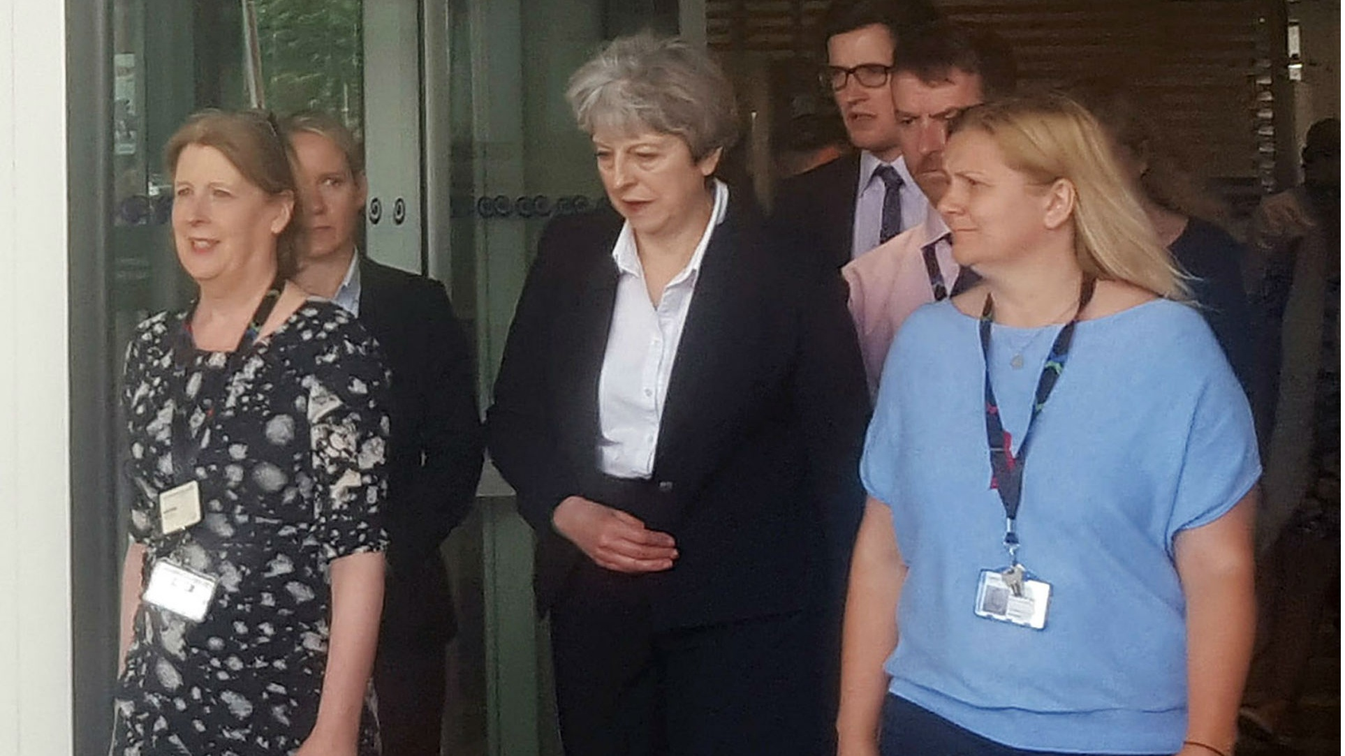 Andrea Leadsom confronted over PM not meeting Grenfell Tower victims