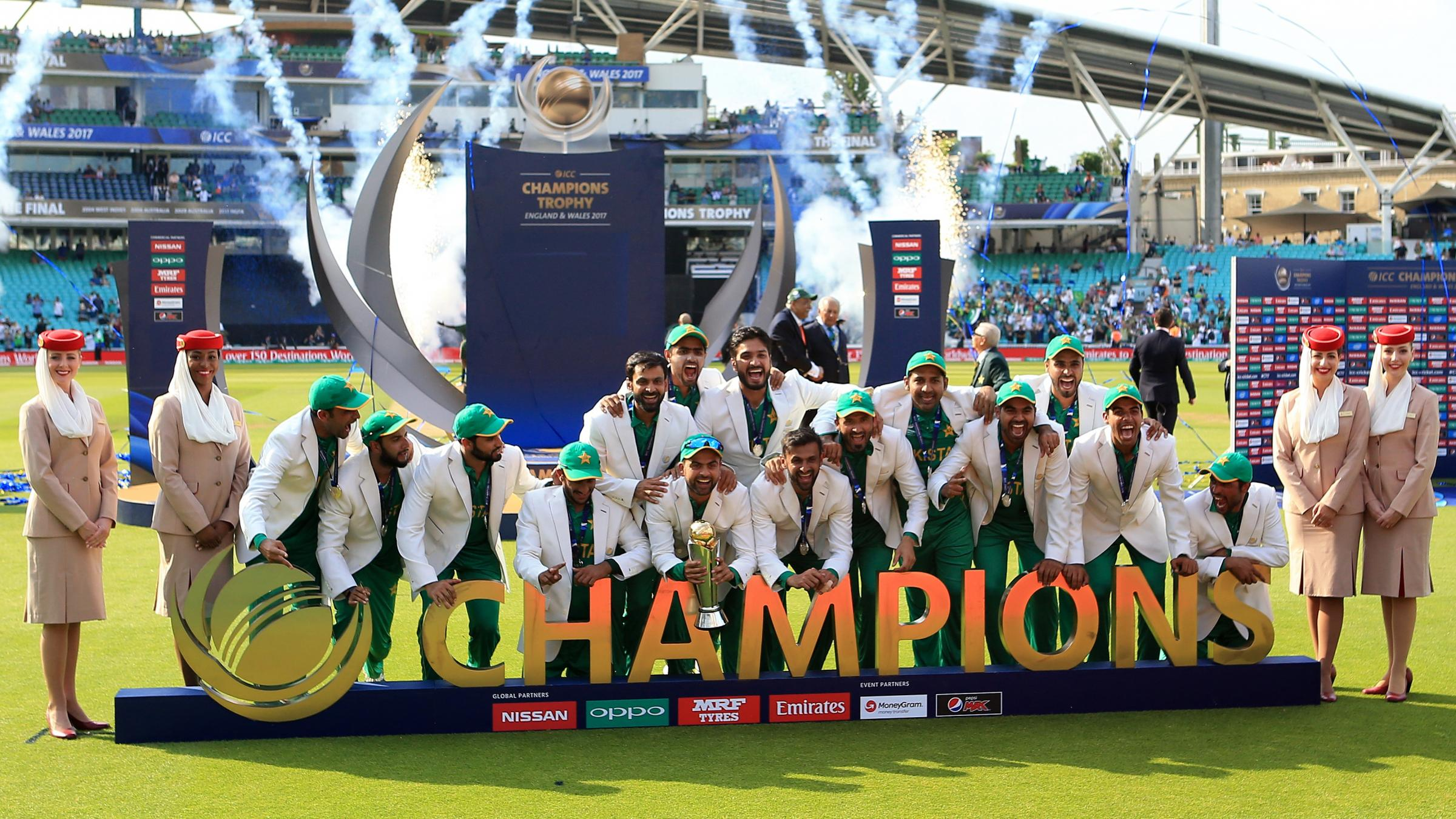 Kane Williamson named 12th man as Pakistan dominate Champions Trophy team